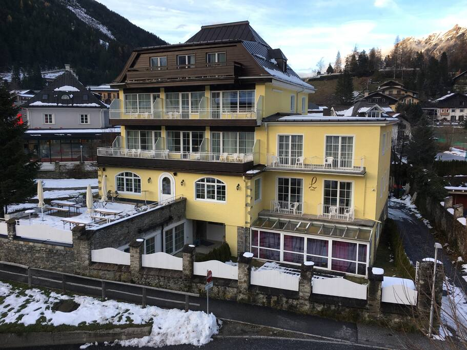 Our Boutiquehotel Lindenhof with the apartment in the garden!