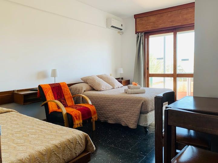 Habitación de hotel para 3