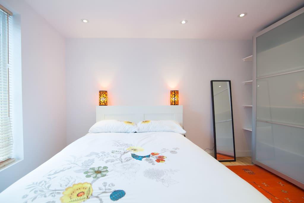the bedroom to rent
