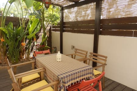 2b Ground floor Garden apt with pool - Pyrgos - Pyrgos