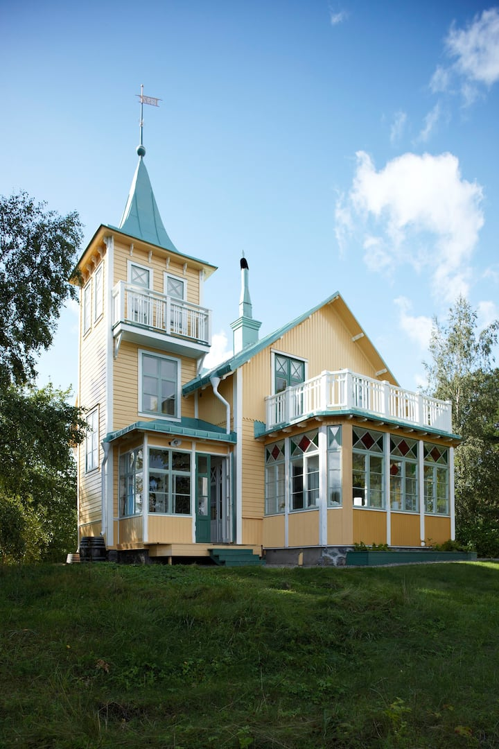 Private Island in the Stockholm Archipelago