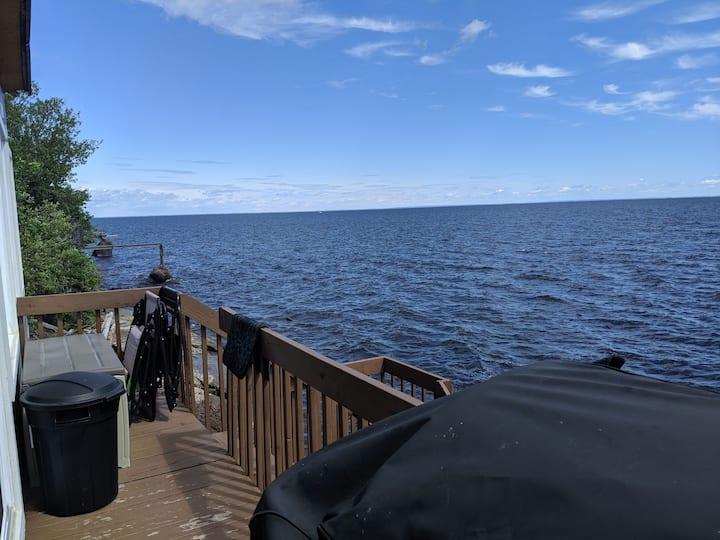 Chalet à louer bord du Lac St-Jean