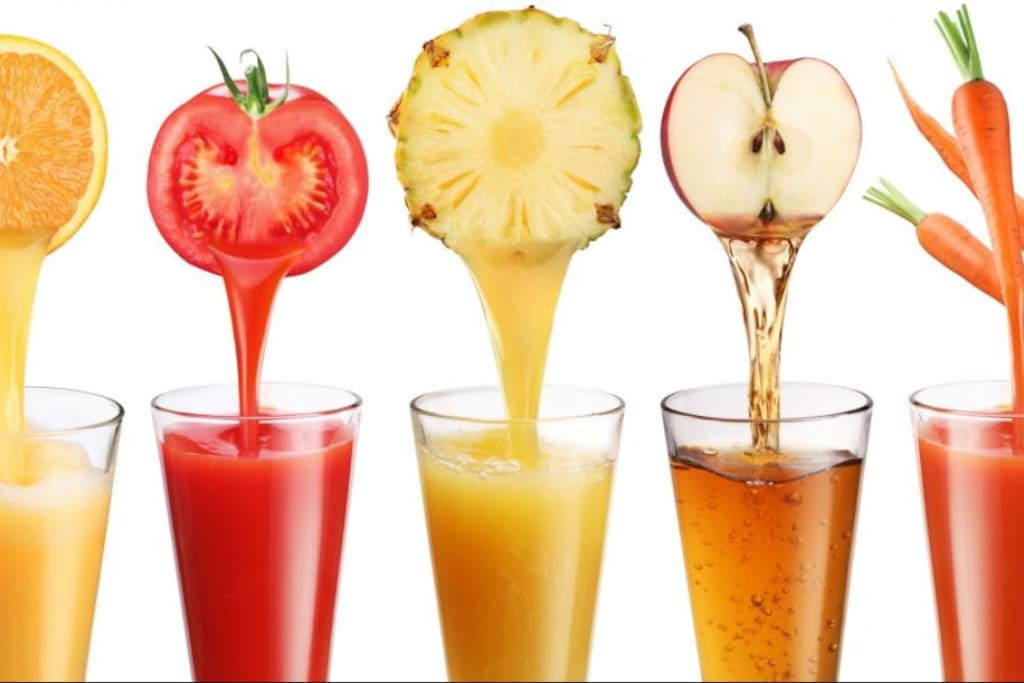 You could be able to choose the ingredients of your Juice