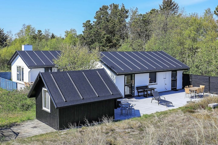 Enticing Holiday Home in Jutland with Sea nearby