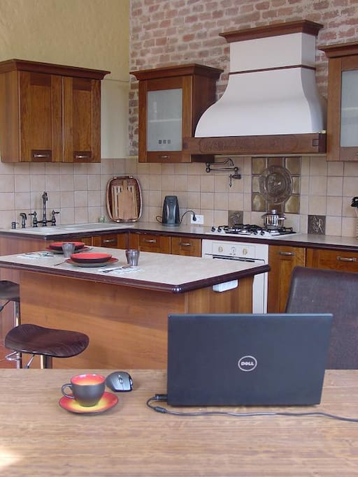 Plenty of space to cook, entertain or quietly enjoy your home cooked meal