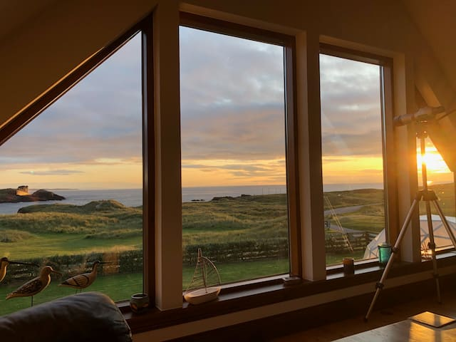 Highland Beach House with stunning view, Clachtoll
