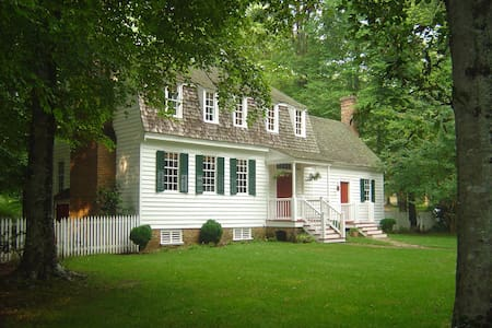 18th  century Plantation House on 100 Acres - Williamsburg
