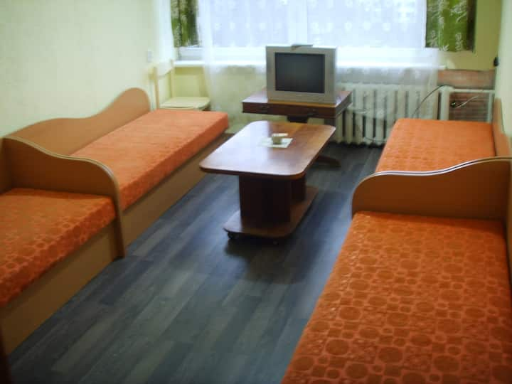 Cheap rooms in quite are in Siauliai