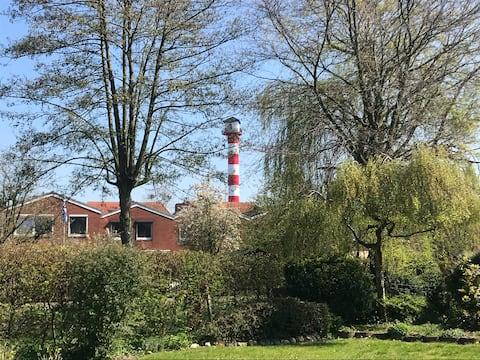 Ferienwohnung Leuchtturmblick Glückstadt