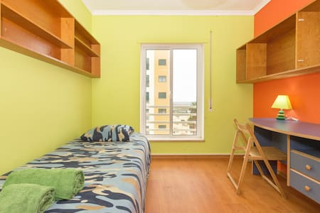Green Sunny Room, Ria Formosa view  - Far