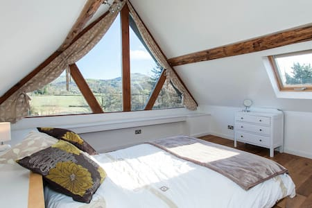 Characterful barn, stunning views - Powys - Σπίτι