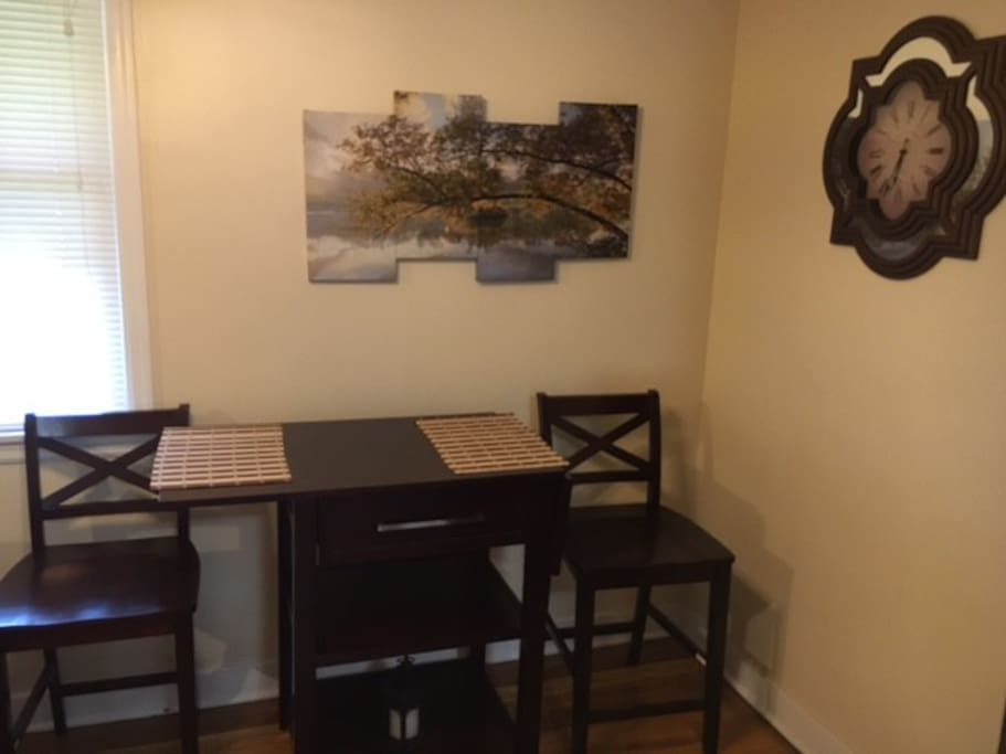 1st level: Dining area