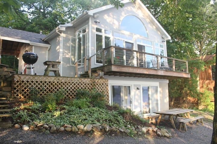 The McCune House on Cayuga Lake