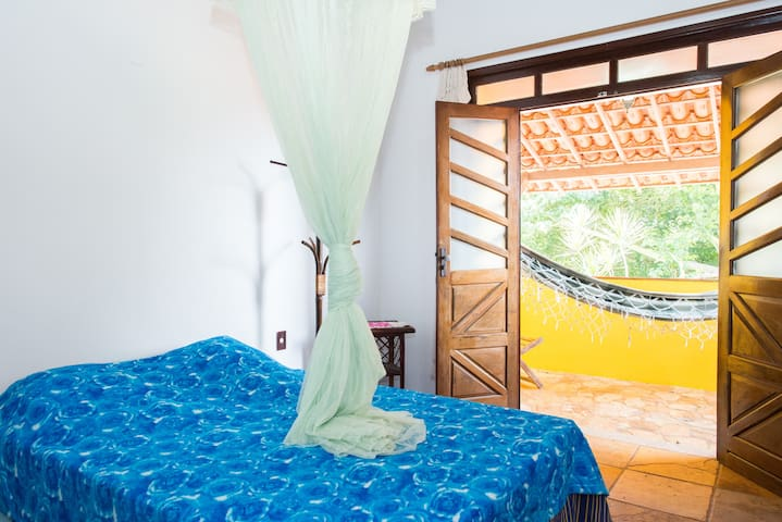 Wonderful Beachfront Island Room 1 - Salinas da Margarida - House