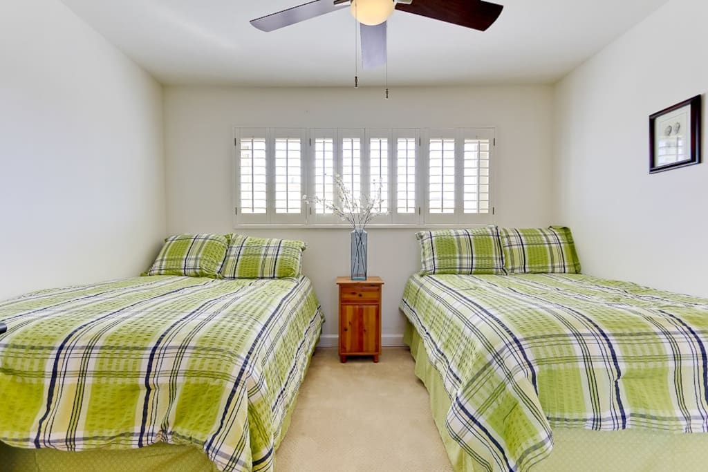 2nd Bedroom Full  Size Beds