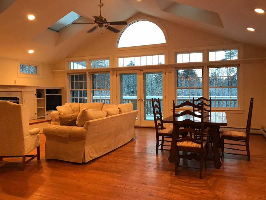 Great Room with Gas Fireplace , Formal Dining Area.