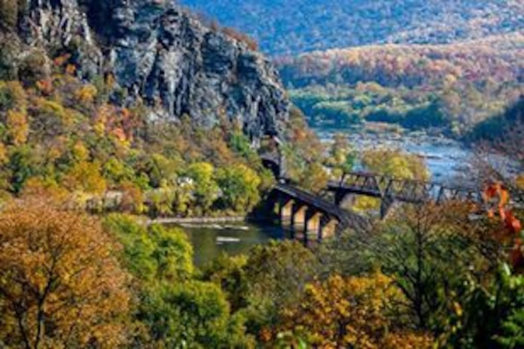 Harpers Ferry Gap view