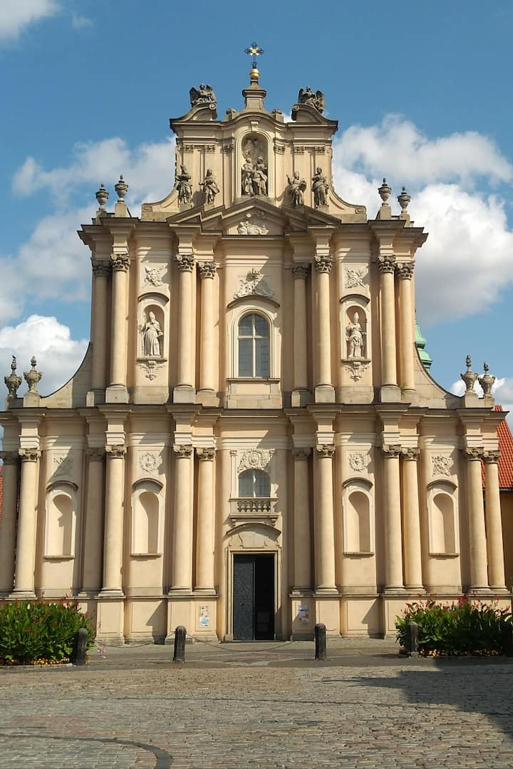 Church that survived WWII