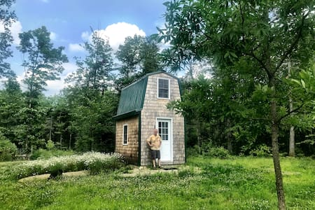 Tiny House living in the heart of the Maine woods