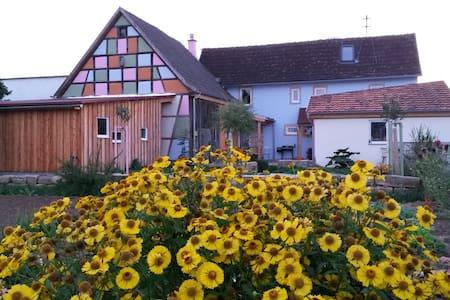 Traumhaftes Landhäuschen in Franken - Bundorf - Rumah