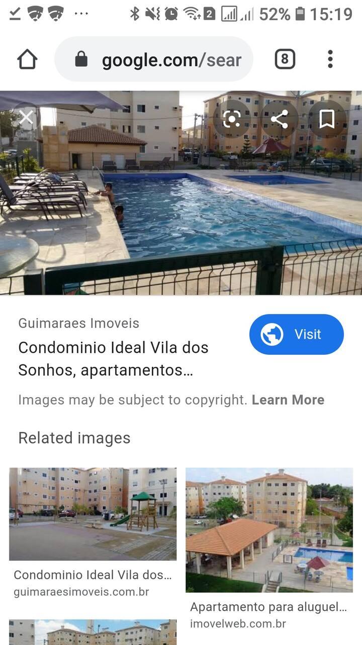 Apartamento em Fortaleza. Com lazer completo.