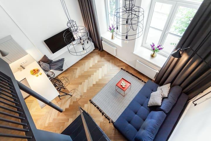 Blue Loft Telegrafas Apartments Kaunas