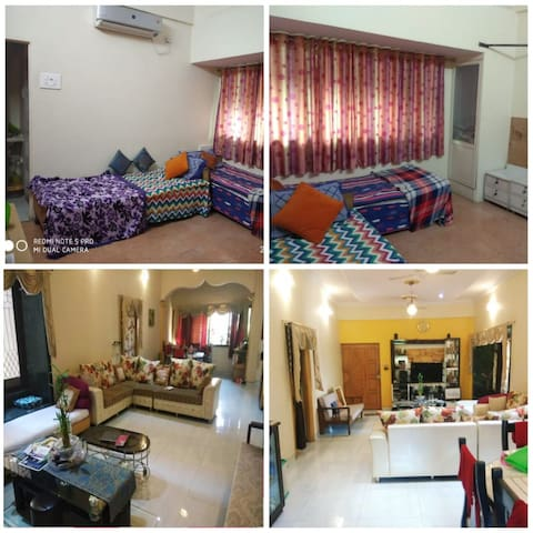 Homestay-1AC room with private entrance(Kharghar)