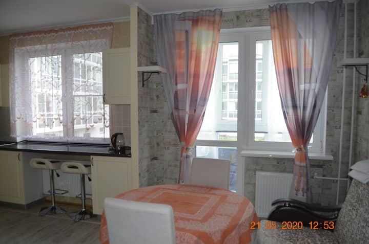 Lovely apartment in cozy Zelenogorsk