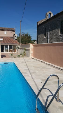 Tranquil villa with private pool - Clairac