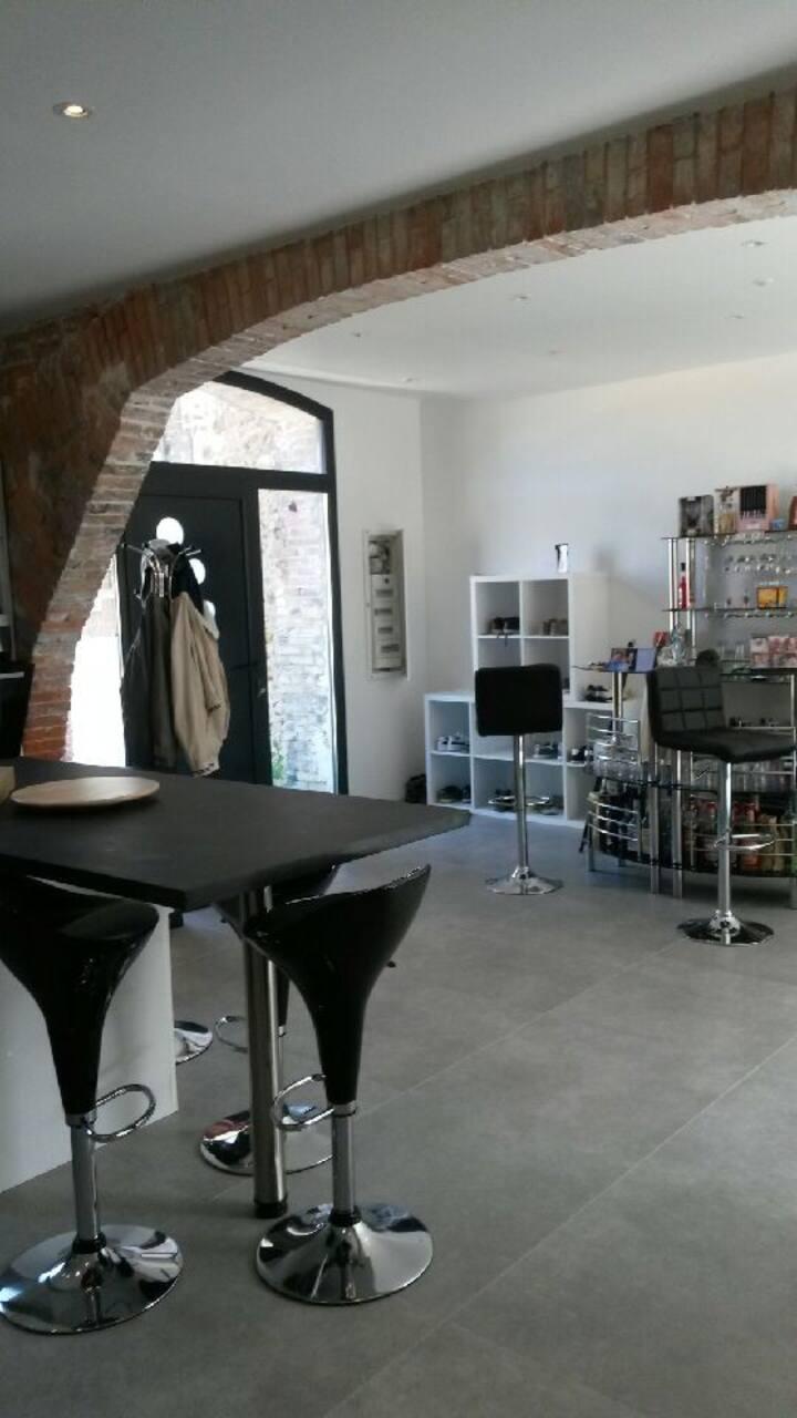 Duplex 95 m² calme
