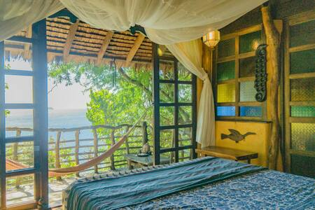 Ocean View Kubo - Hus i træerne