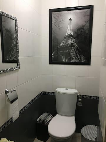 Toilette privatif