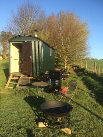 Shepherd's Hut in a beautiful spot in Dorset - Milton Abbas - Hut