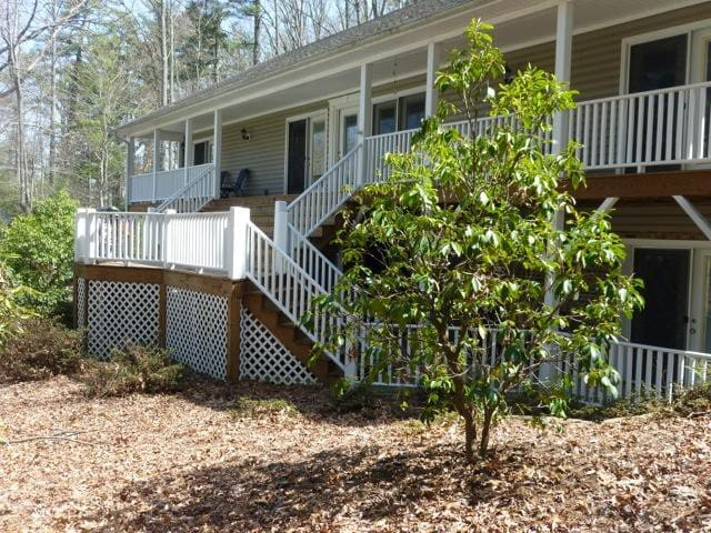 Lovely two level home. Up to 3 bedrooms, 3 1/2 baths.