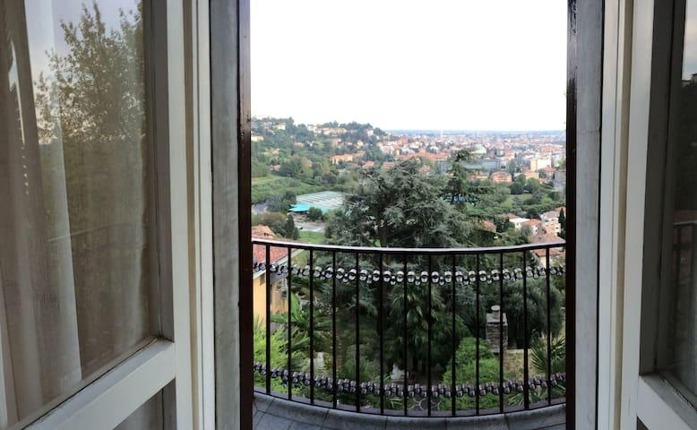 Città alta, tranquillo e ottima vista - Bergamo - Appartamento