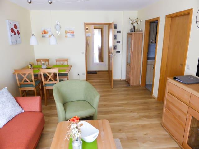 Ferienwohnung Auszeit, (Schonach), Ferienwohnung Auszeit, 45qm, 1 Schlafzimmer, 1 Schlaf-/Wohnzimmer, max. 3 Personen