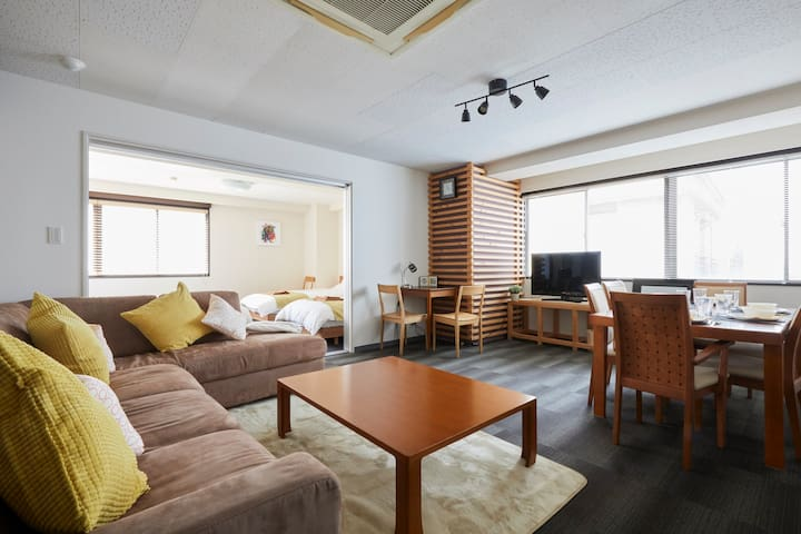 (2) Near Roppongi /90㎡ / 2BR / 10 beds /Max 10 ppl - Minato-ku - Appartement