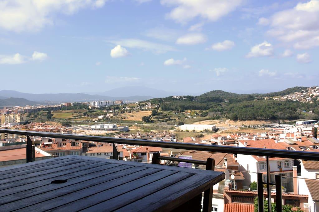 Vistas generales desde la terraza