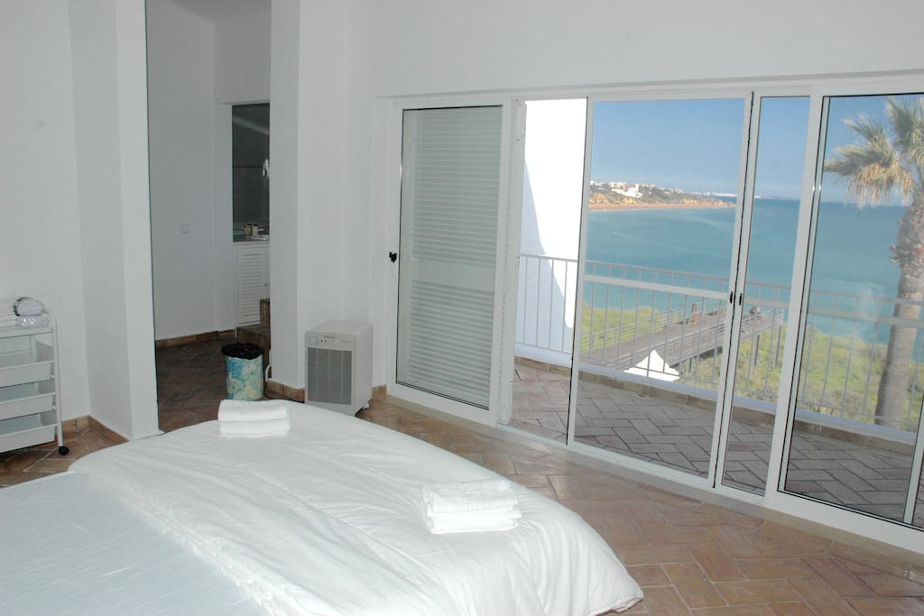 En-suite master bedroom with an incredible view to wake up to