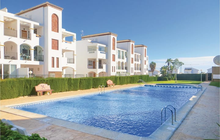 Holiday apartment with 2 bedrooms on 63m² in Orihuela Costa