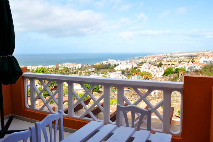 Studio with breathtaking view of the Costa Adeje