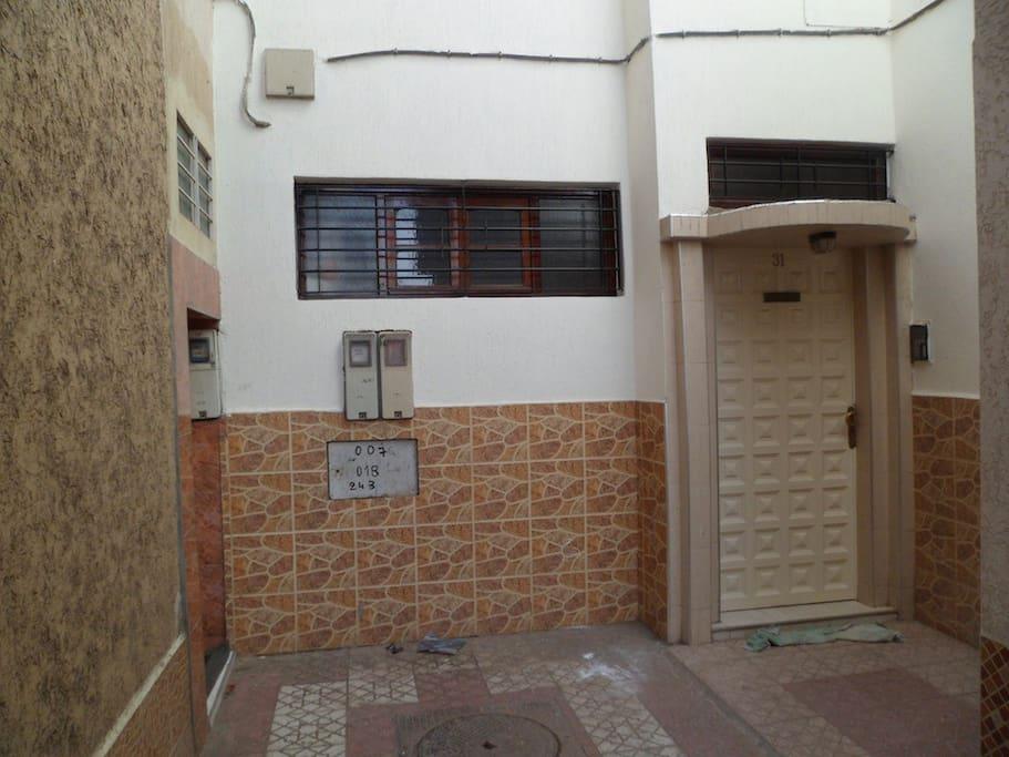 Agadir central town house ref 1093 maisons louer for Agadir maison a louer