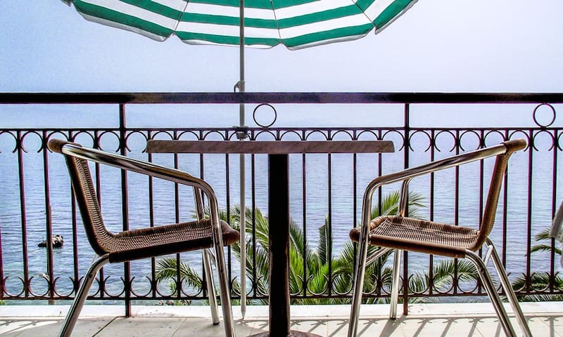 Seaview Studio in Benitses - Adults Only