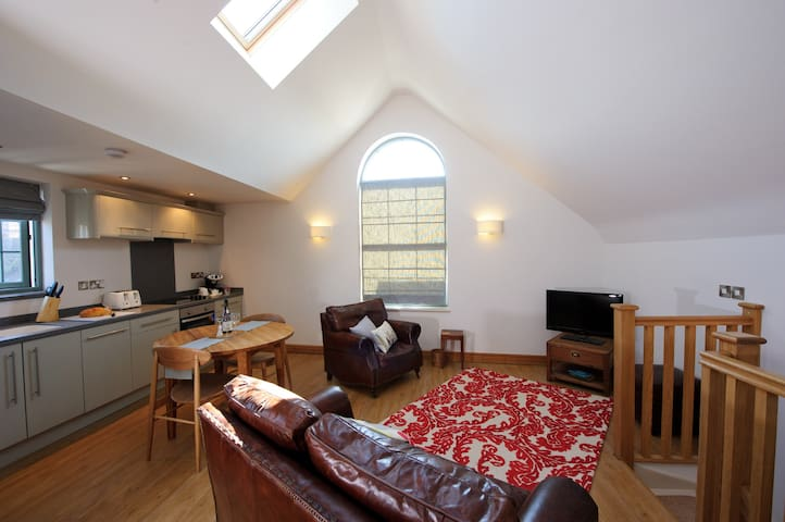 Hermitage Studio with rooftop views - Bridgnorth