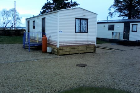 Beautiful , seaview Static Caravan - Kinloss