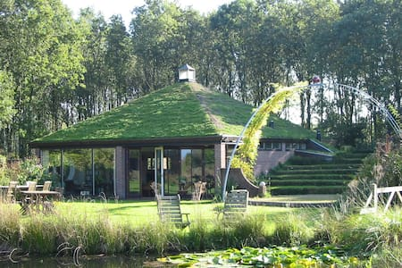 Selatuinenpaviljoen in grote tuin - Appelscha - Kulübe