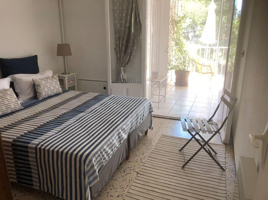 chambre grand lit (en 160)