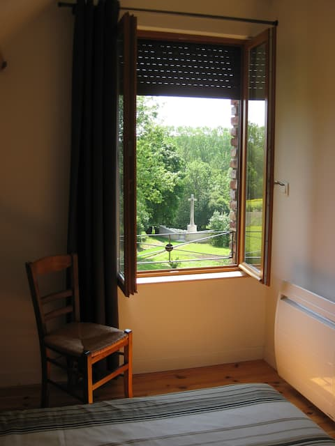 Peaceful Apartment in WW1 area countryside