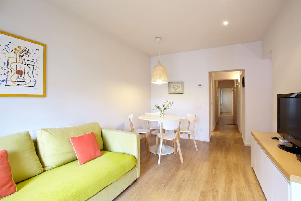 Central superb 3 bedroom apartment