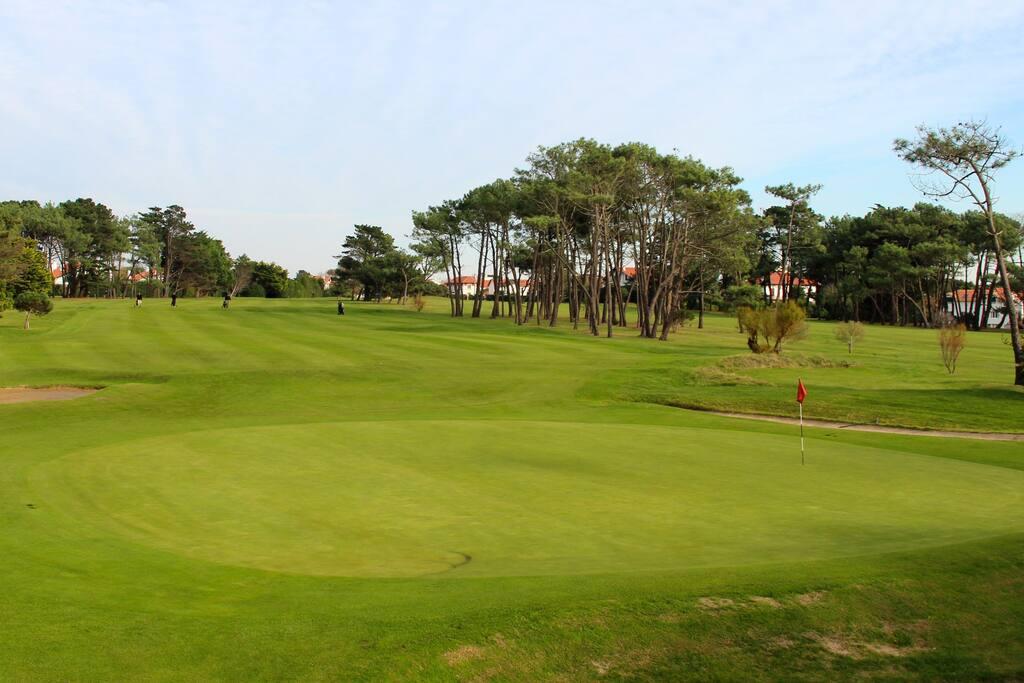 balcon vue golf